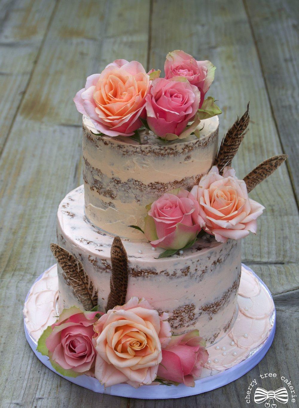 Blush and pink rose semi-naked cake2.jpg