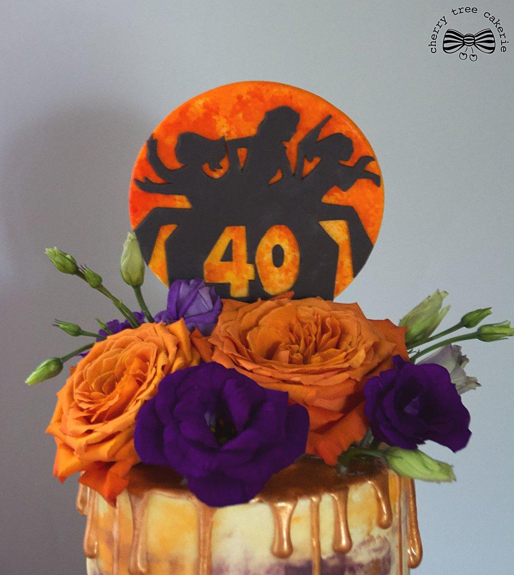 Charlies Angels buttercream cake topper.jpg