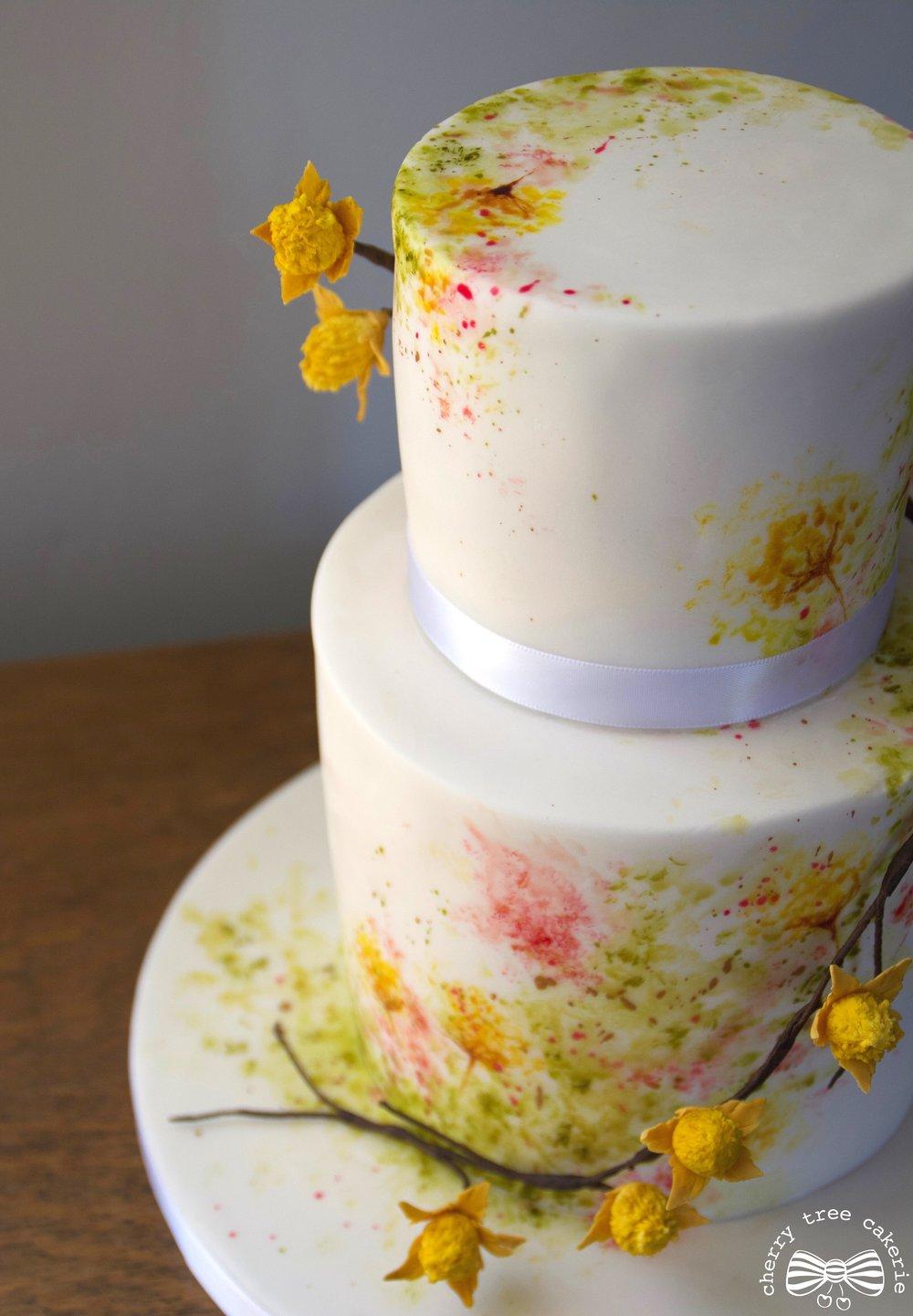 Wildflower watercolour wedding cake.jpg