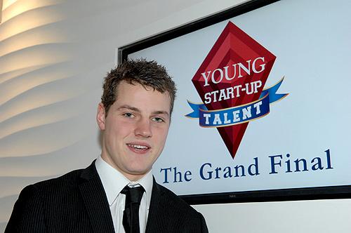 Winner Toby Gillett