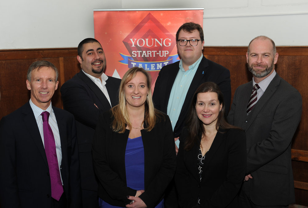 YST Brighton judges - left to right Gary Chown, Matt Turner, Lorraine Nugent, Rob Nunn, Ana Christie and Dan Simpson