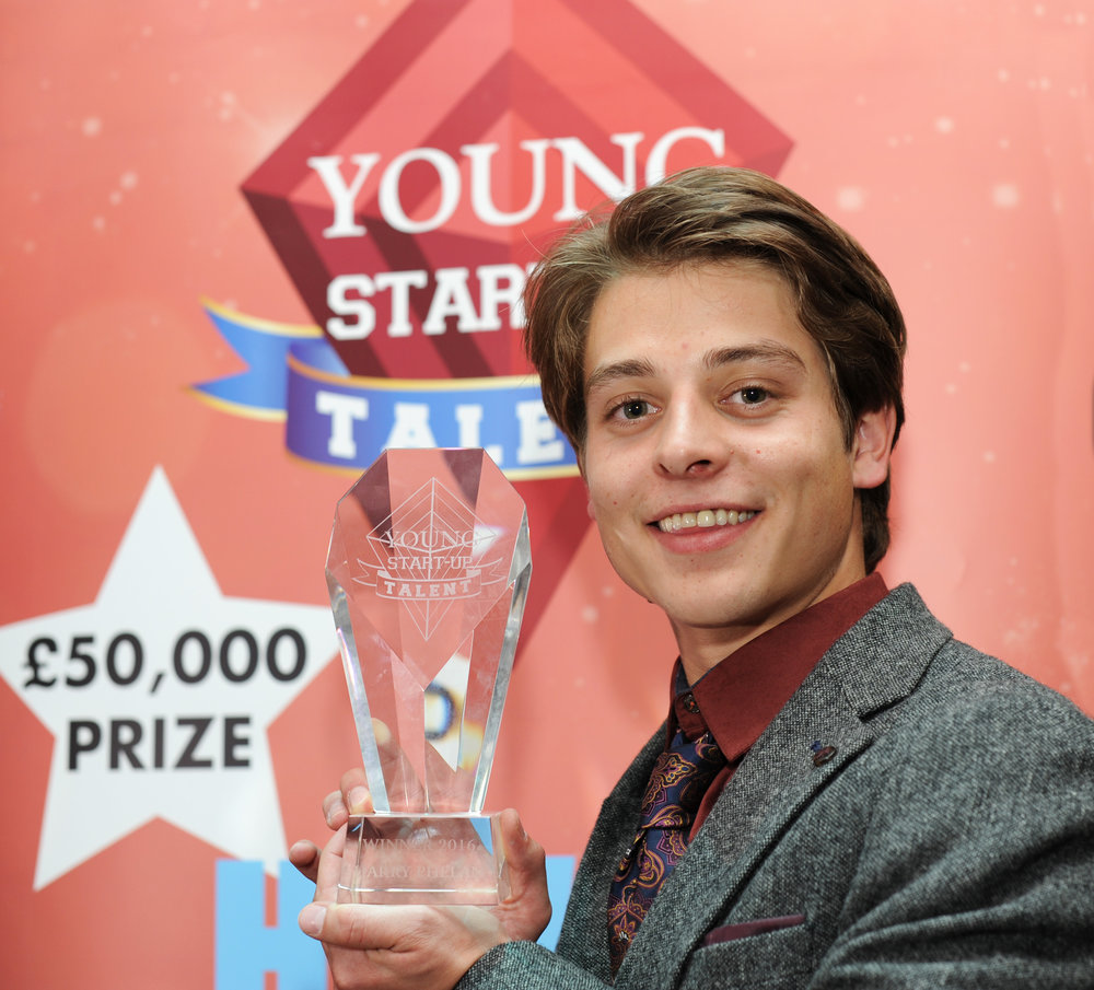 Solent Young Start Up Winner Harry Phelan