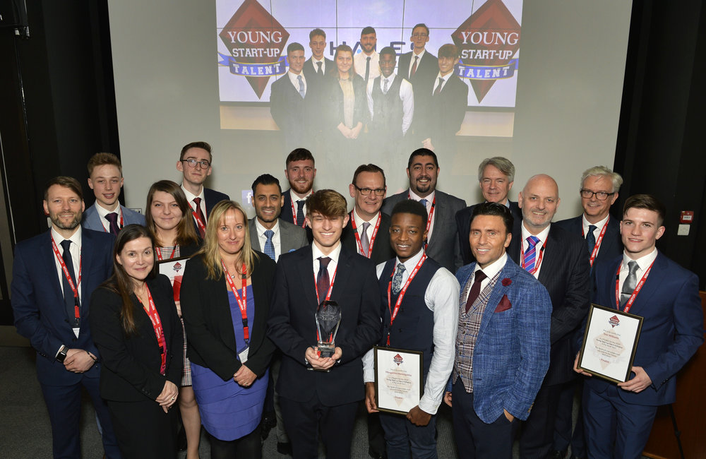YST South East 2019 Judges and finalists at Thales showcase