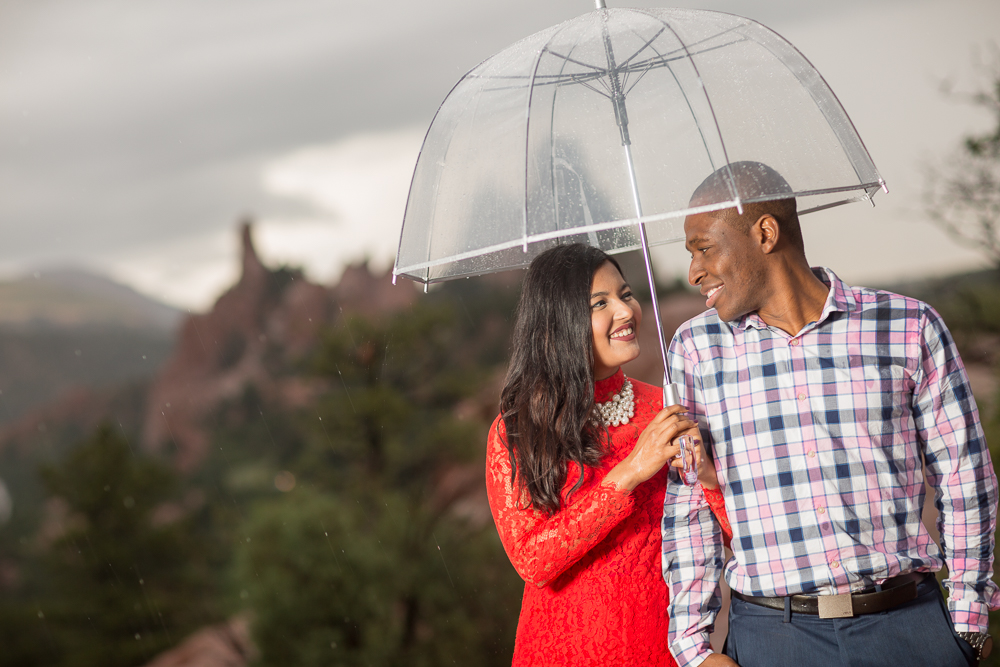Click to view Eury & Robert's Garden of the Gods engagement photos