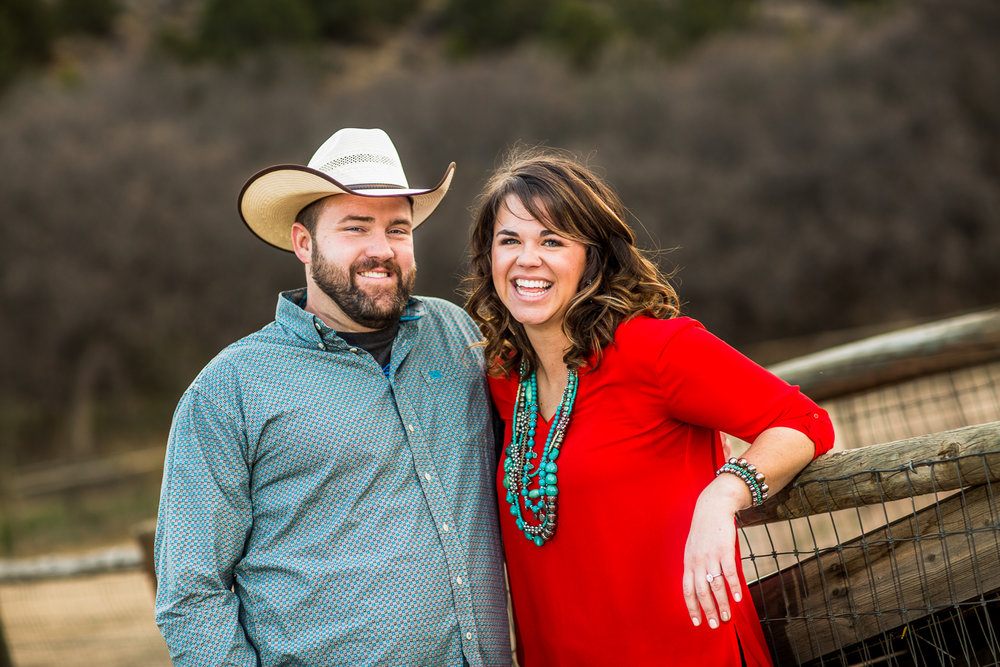 Click to See Jordan & Penn's Engagement Session at Rock Ledge Ranch & Garden of the Gods!