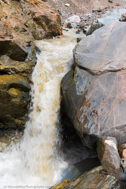 Waterfall along Whistler Creek.