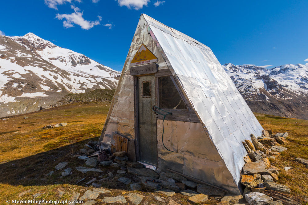 Thayer Hut.