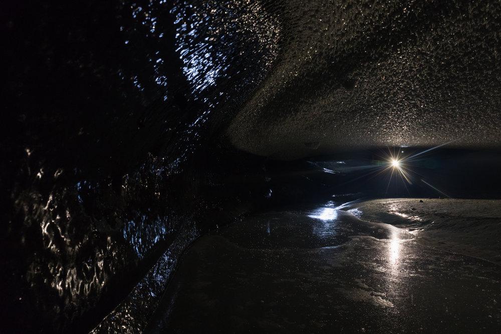 Beneath Canwell Glacier