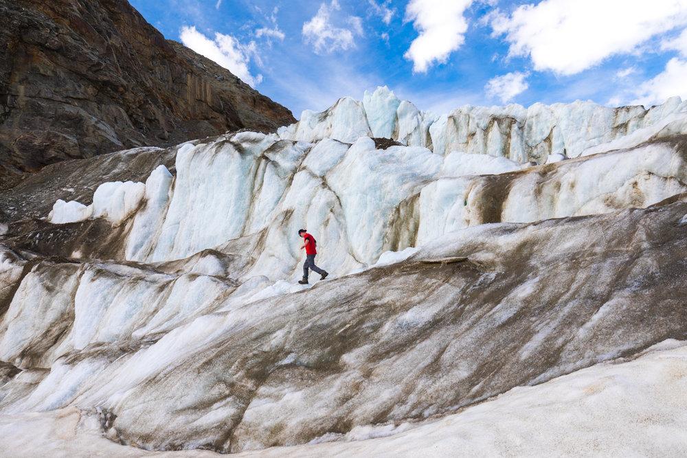 Short Sleeves, Castner Glacier, Alaska Range