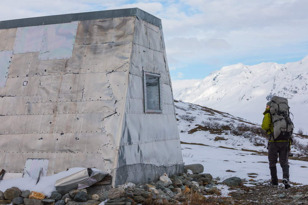 Lower Canwell Hut, Alaska Range