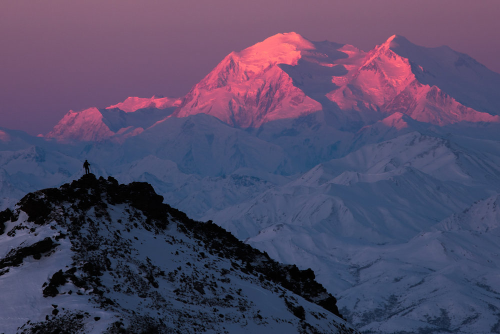 Denali Winter Sunrise, Denali National Park