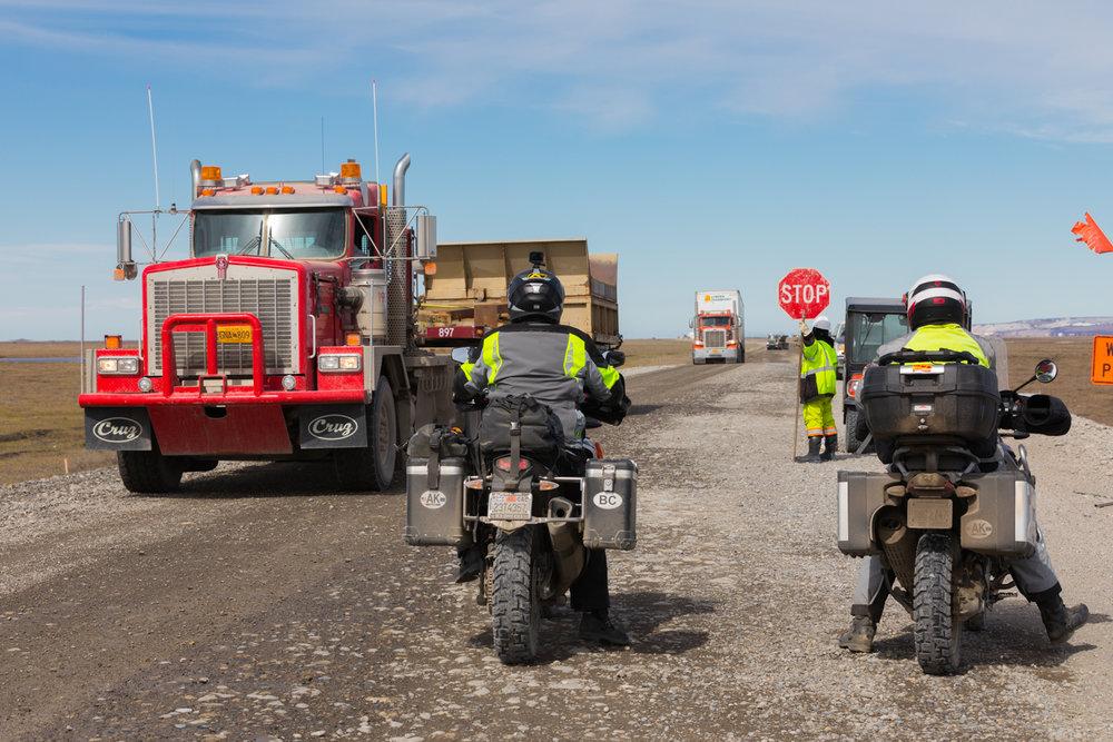 Dalton Highway Road Construction