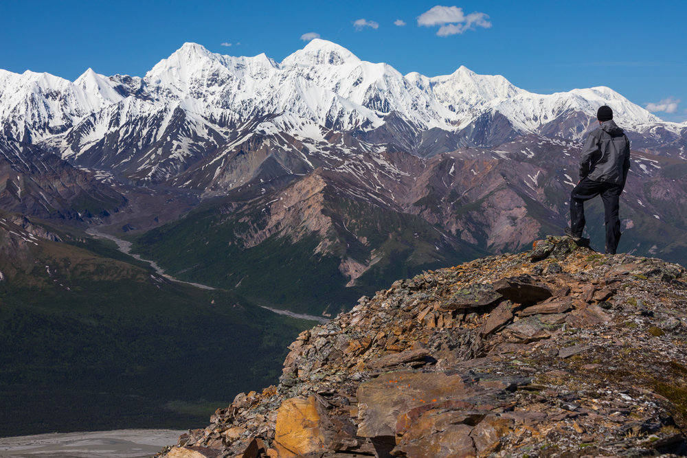 Hayes Range View, Alaska Range
