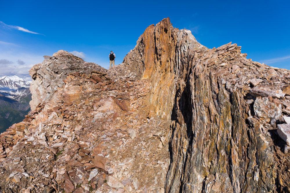 Wavy Rocks, Alaska Range