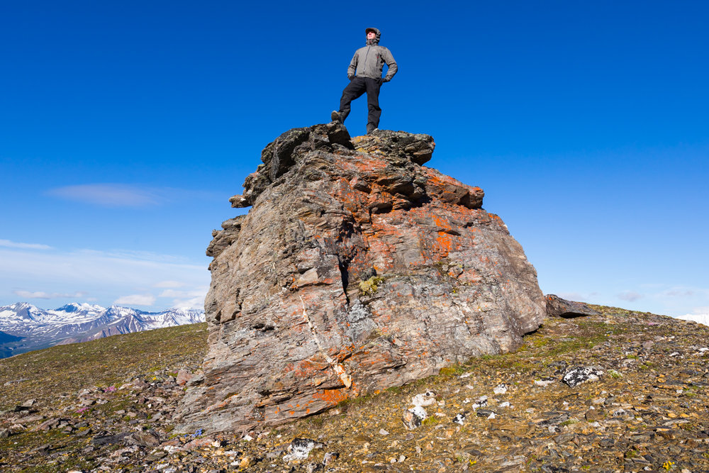 Alpine Boulder, Alaska Range