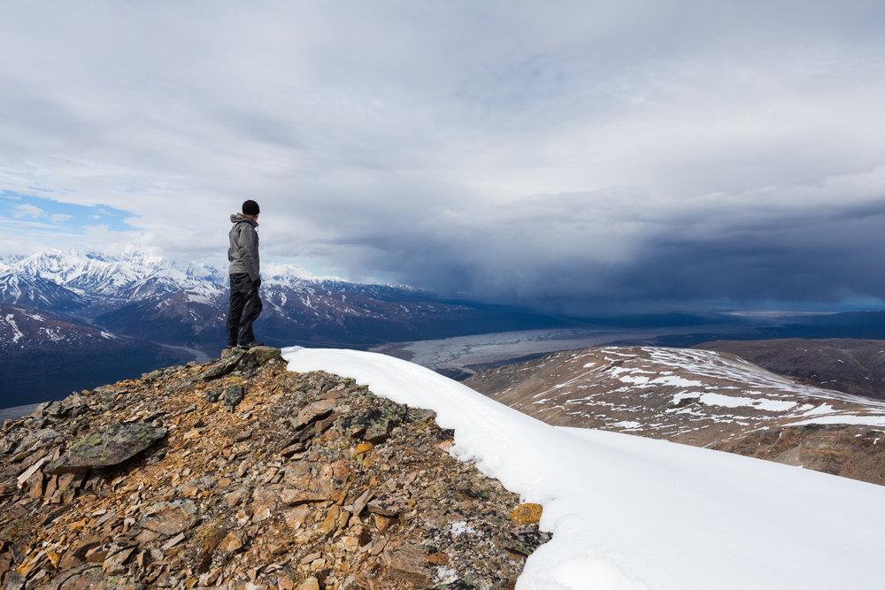 Rain Clouds, Eastern Alaska Range