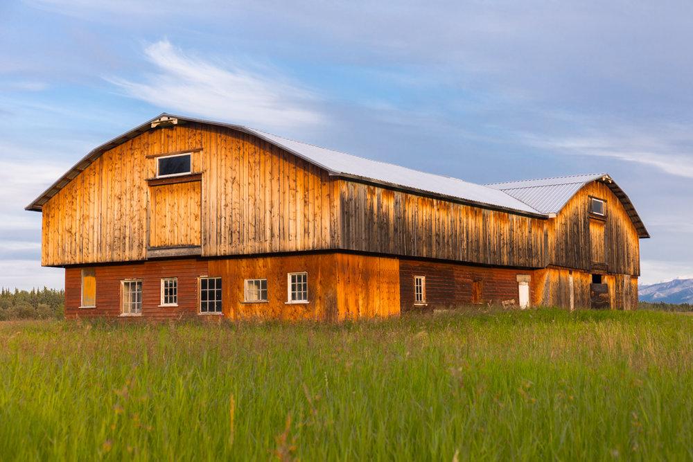 Old Barn, Delta Junction