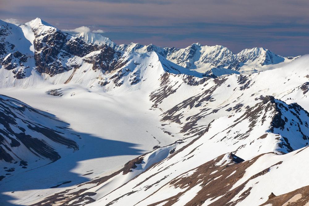 Jarvis Glacier, Alaska Range