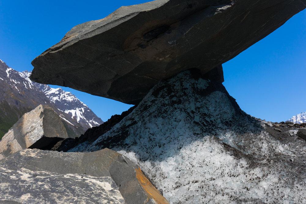 Balancing Act, Valdez Glacier