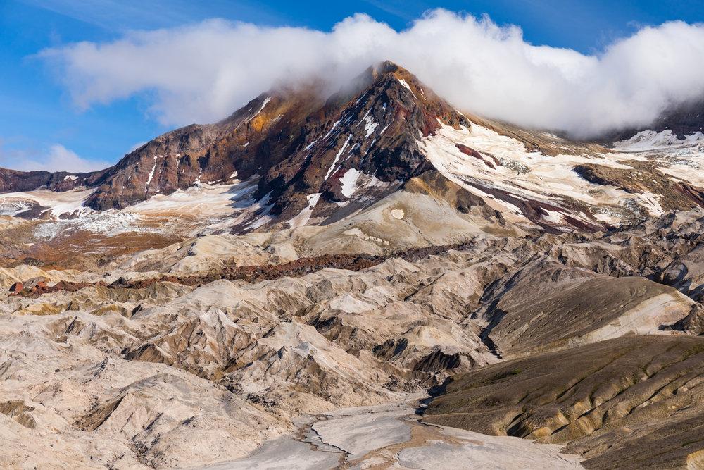 Trident Volcano & Knife Creek Glaciers, Katmai National Park