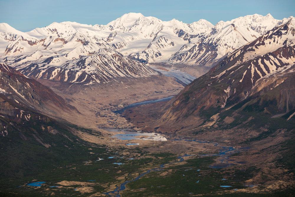 Black Rapids Glacier Vista