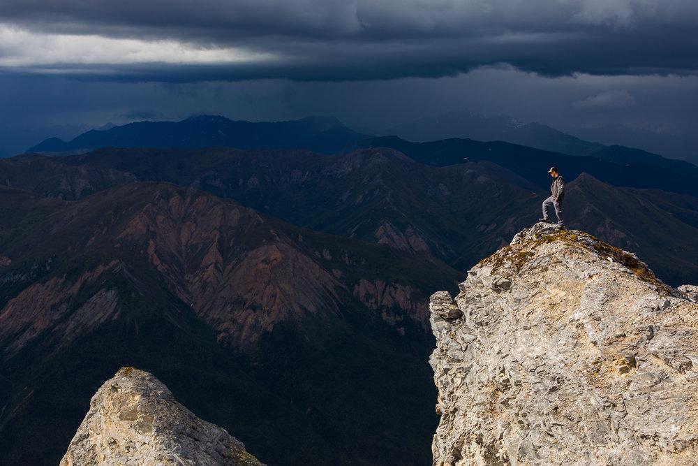 Last Light On Sukakpak Mountain