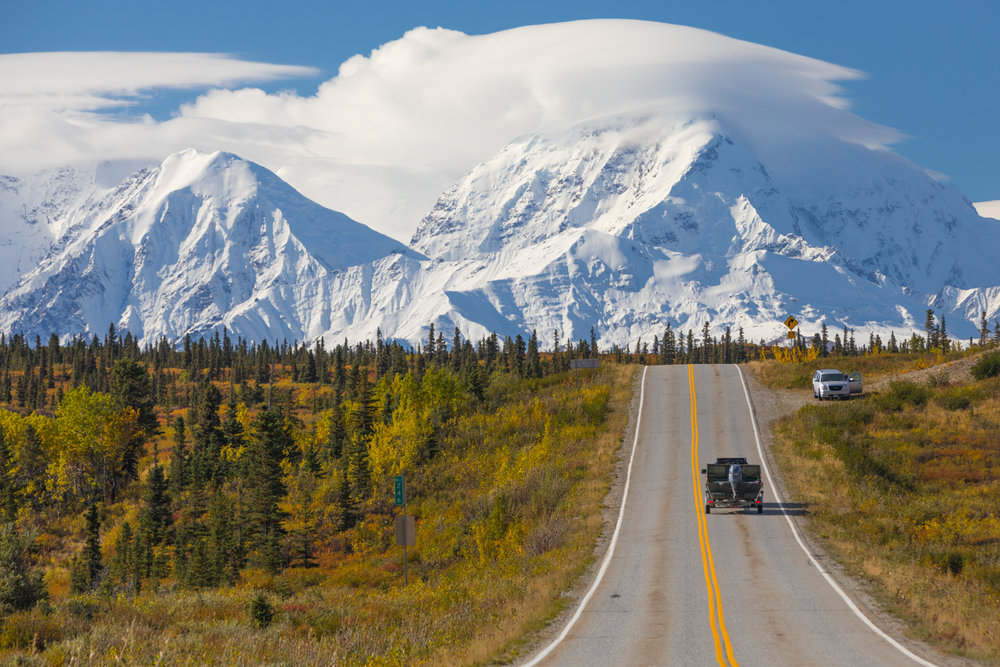 Mt. Moffit Over The Richardson Highway