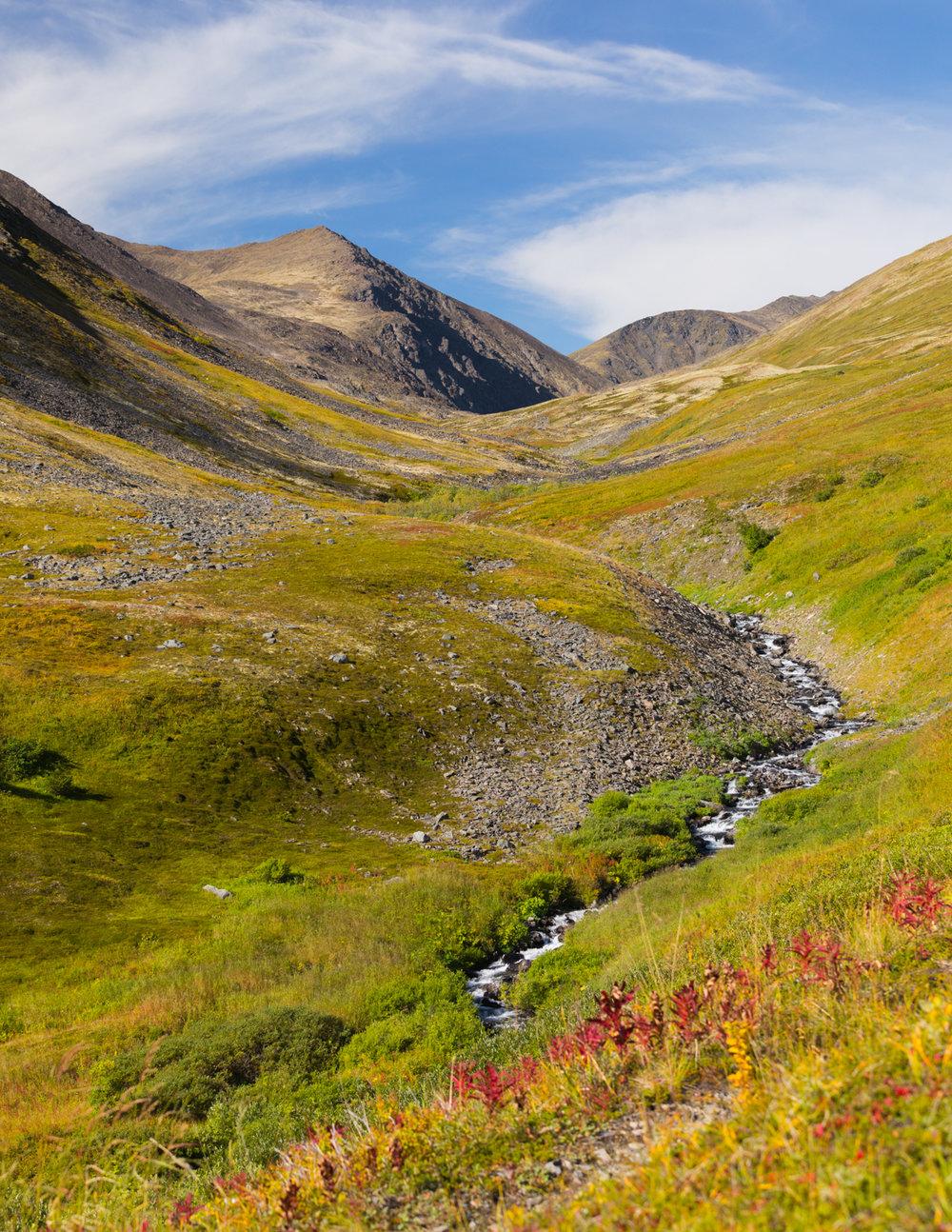 Summit Creek Trail, Kenai Peninsula