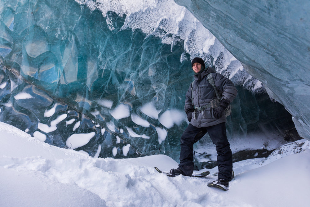 Canwell Glacier Cave Entrance