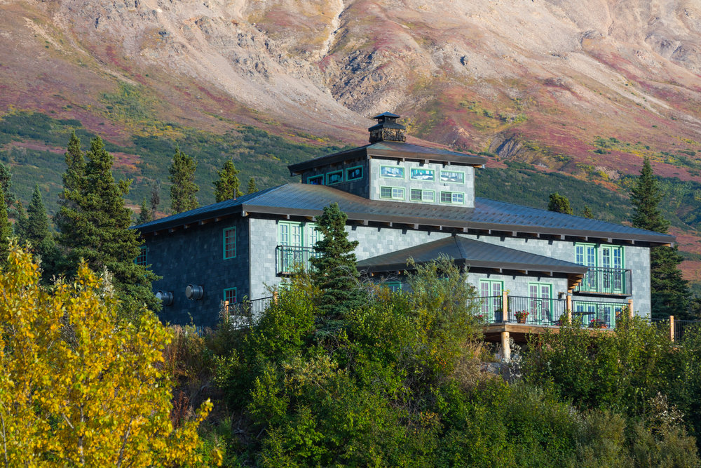 The Lodge at Black Rapids.