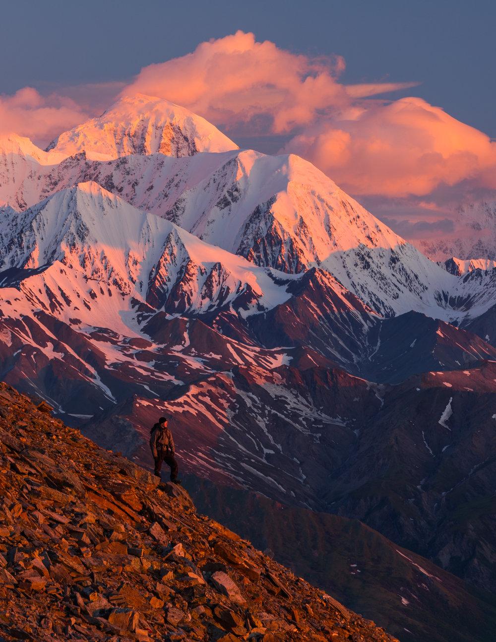 Eastern Alaska Range Sunrise