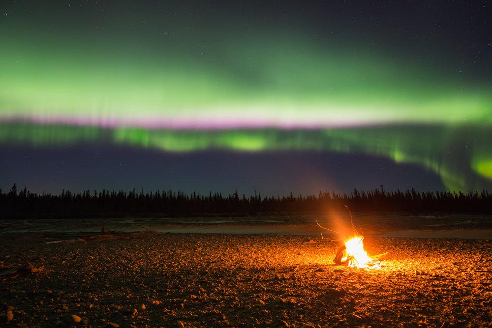 Jarvis Creek Driftwood Fire Aurora
