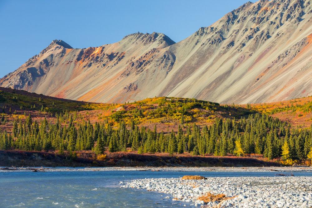 Rainbow Ridge Over Phelan Creek