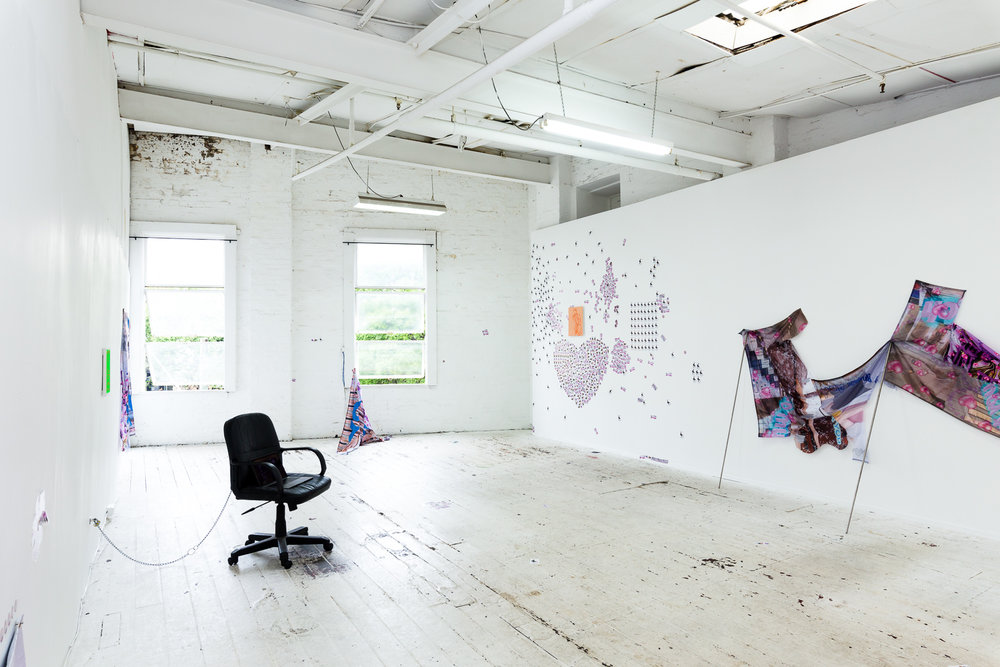 Installation view,  Number One Assistant,  Kyra's, Sydney. Photo: Document Photography
