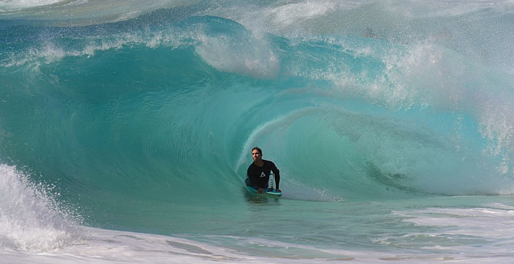 Micah-Caleb Kalama at his local Zone keep it Green Hawaiian! pic.D.akana