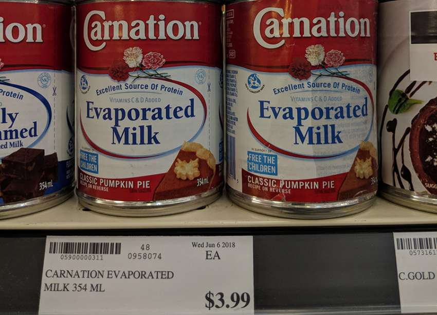 """""""I don't even buy carnation milk, it's not my thing. I see it a lot. Growing up, I see kids having carnation milk for formula,"""" says a mother of six from Iqaluit, Nunavut."""