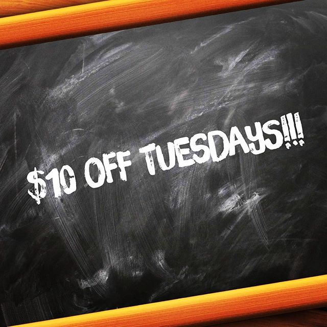 Come see us today and receive $10 off of our full body signature airbrush tan! Tuesdays aren't just for tacos anymore!!! #tan #sunlesstan #glow #bronze #safetan #tanskin #deals #tuesday