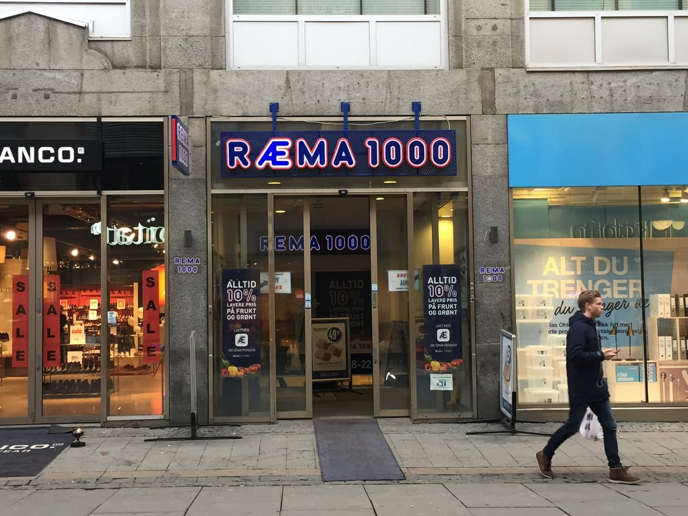 REMA 1000, Torgata