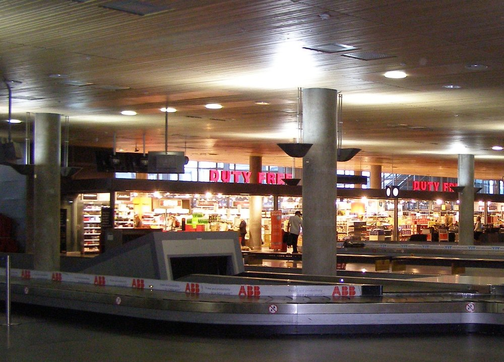If you're alone at baggage claim it's because everyone else is in duty free. Photo:  Sean Hayford O'Leary