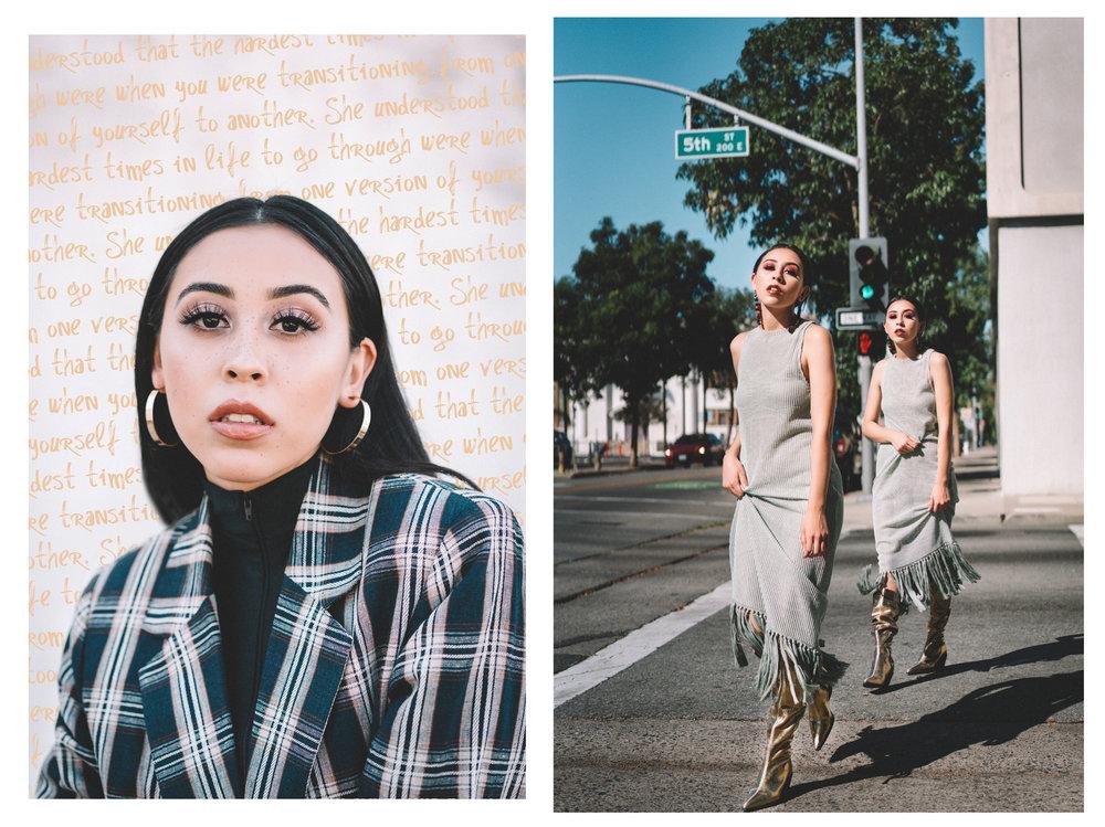 Ray shot downtown Santa Ana