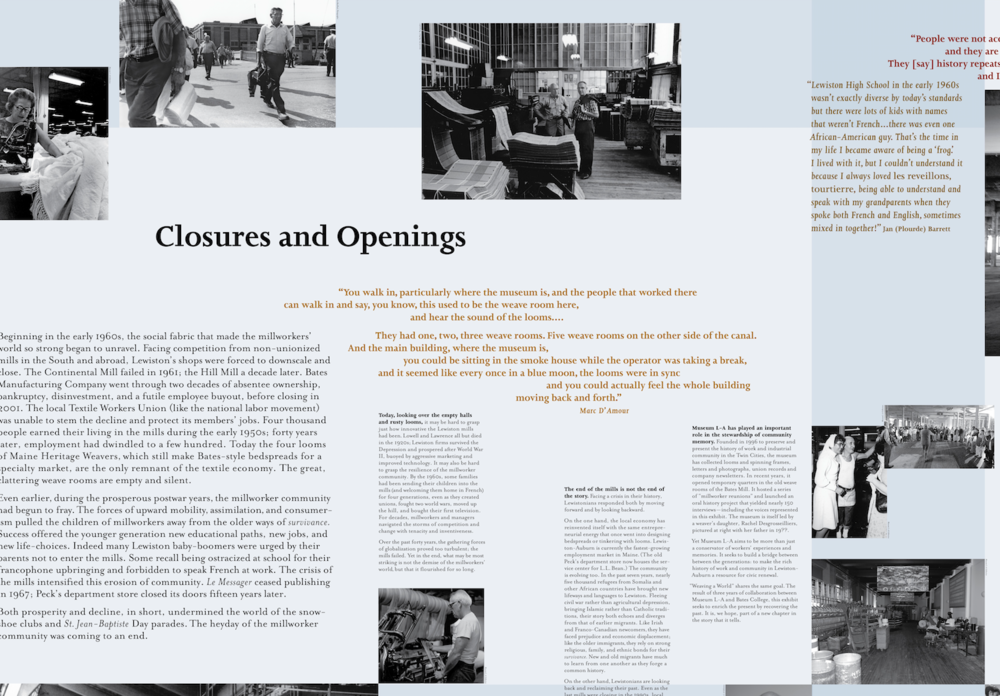 Closures and Openings