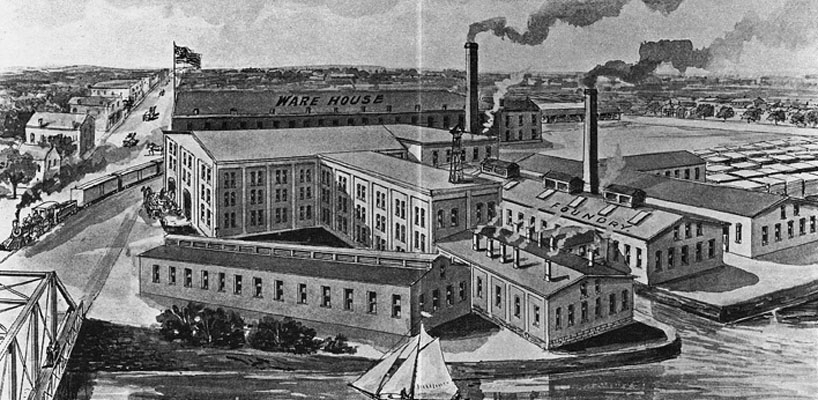 Ann Arbor Agricultural Works, late 19th century