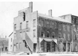 Anson Brown Block, publication office of The Signal of Liberty