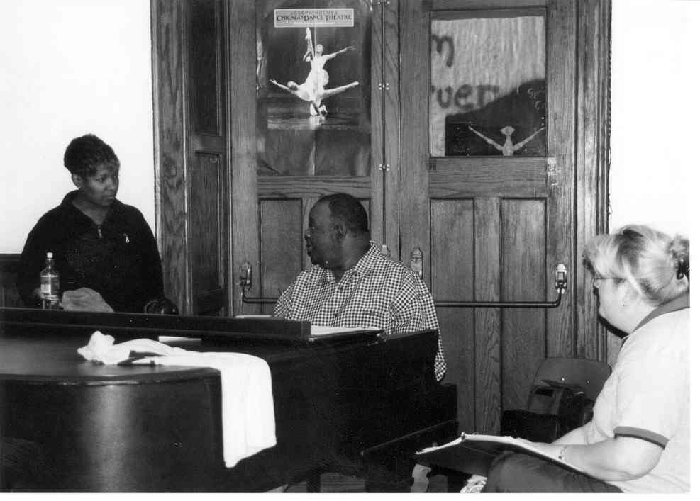 Rudy Hawkins at work