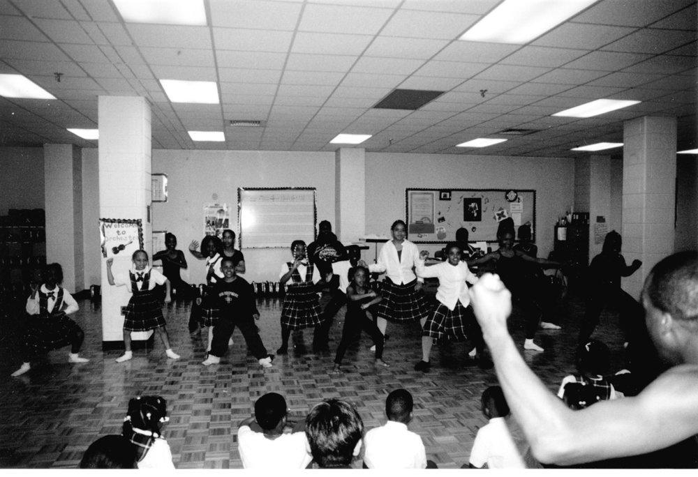 Winans Academy dance workshop
