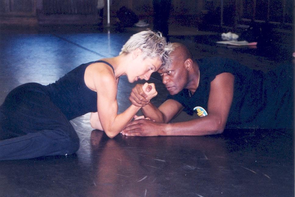 Dance Exchange rehearsal
