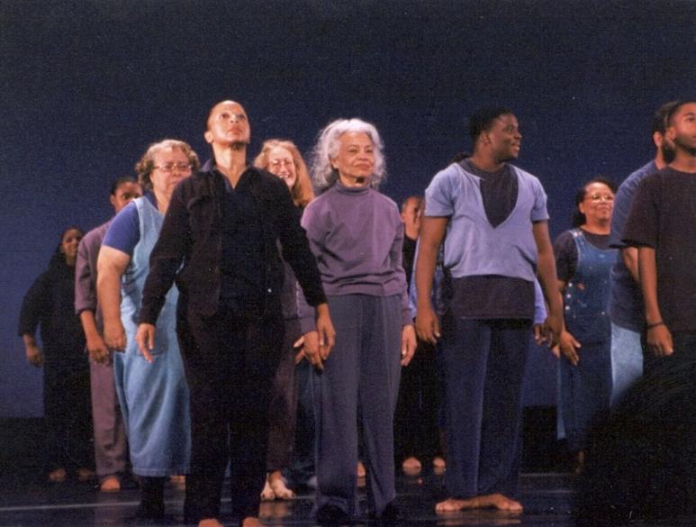 """""""Still/Crossing"""" rehearsal, Detroit Music Hall, 2000"""