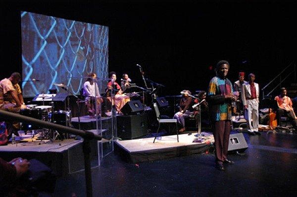 Workshop performance, Walker Art Center, Minneapolis