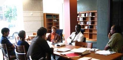 Sekou Sundiata, Julie Ellison, and Michigan collaborators at ACCESS