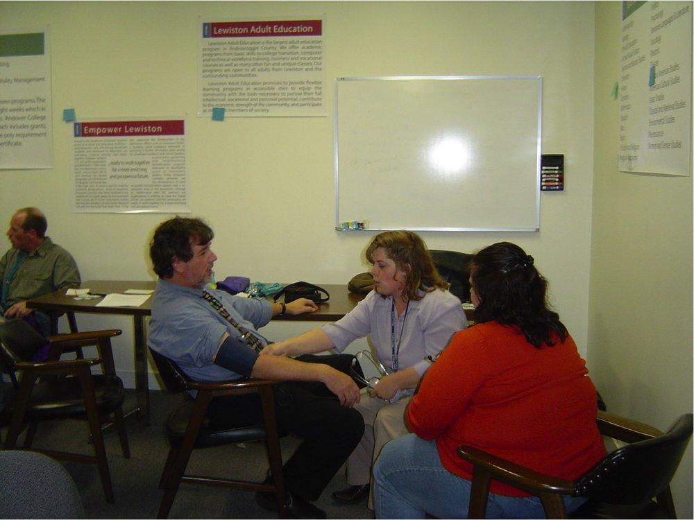 Blood pressure clinic